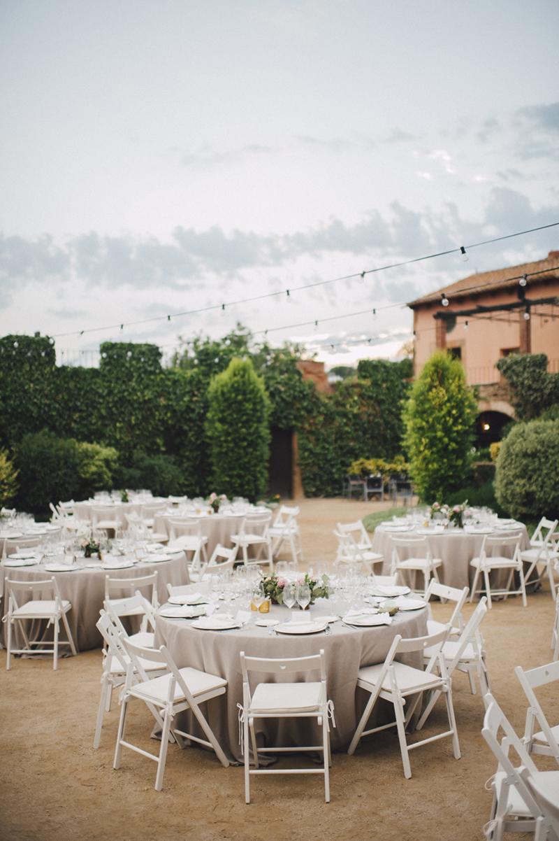 Montaje boda sibaris barcelona