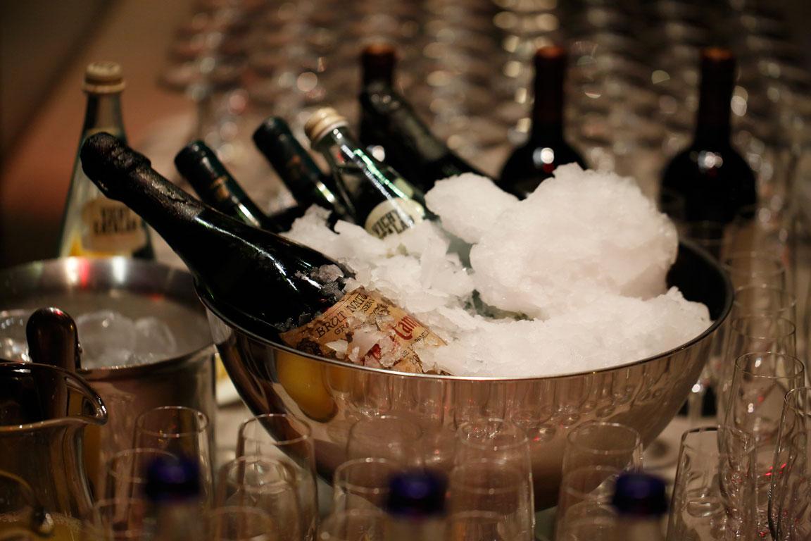 Barra de bebidas Sibaris Catering