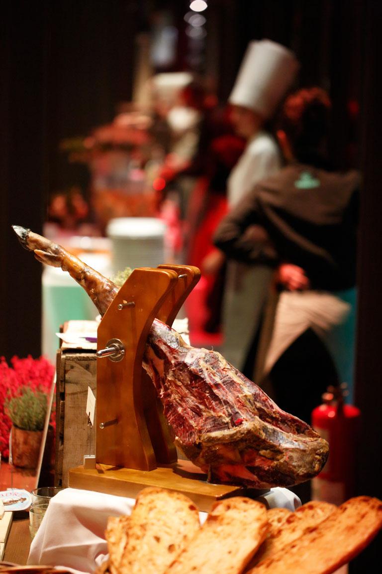 Gastronomía Sibaris catering eventos